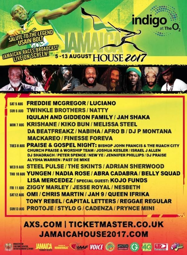 jamaica house event poster